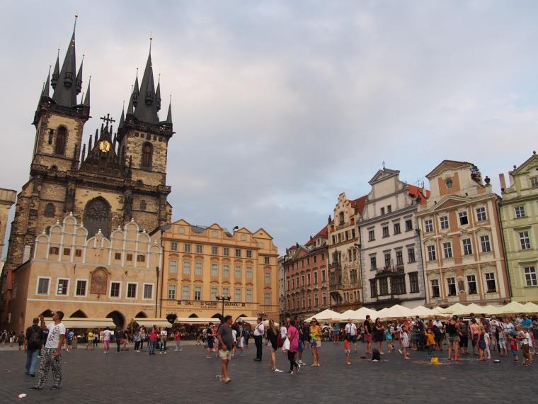 Plaza Vieja, Praga