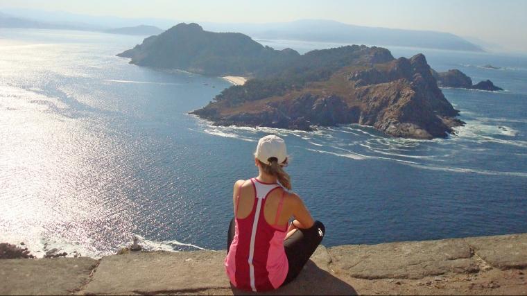 Vistas a la isla San Martiño