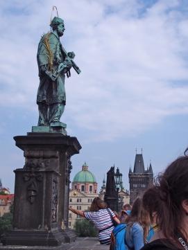 Estatua San Juan Nepomuceno