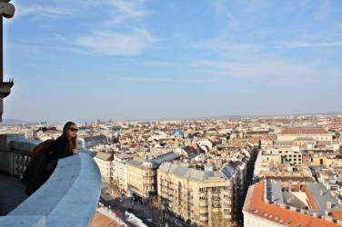 Panorámica desde la Basílica de San Esteban